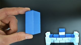 Origami: Building Block - Instructions in English (BR)