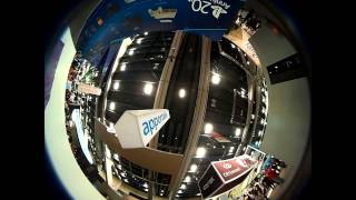 GDC 2015 show floor via Kodak Pixpro SP360 - Upward