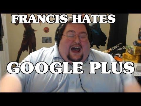 Francis HATES Google+