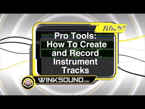 0 Pro Tools: Record Virtual Instruments With Instrument Tracks | WinkSound
