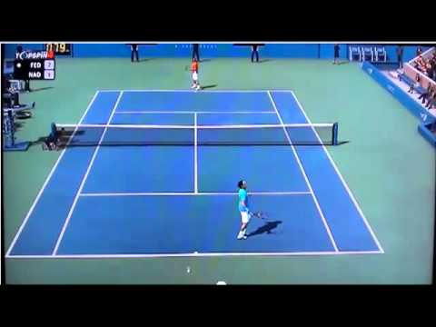 Novak Djokovic vs David Ferrer Highlight reel from 2012 us open full match