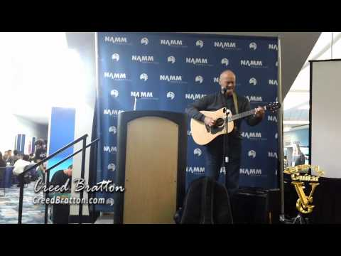 Creed Bratton: NAMM2012 full-clip