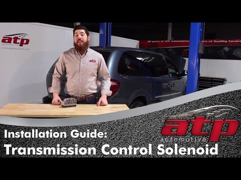 Dodge / Chrysler A604 & 41TE Transmission Control Solenoid Installation