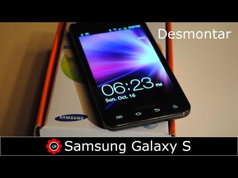 Desmontar pantalla de Samsung Galaxy S