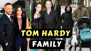 Actor Tom Hardy Family Photos With Wife Charlotte Riley, Ex Wife Sarah Ward, Son Louis , Parents