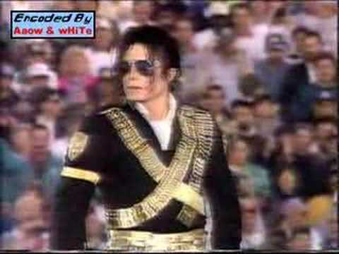 Michael Jackson Superbowl part 1 (Rare version) -- may your soul rest in peace
