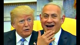 Trump makes lsraeli PM burst into Laughter when he tells him the Price of US Embassy