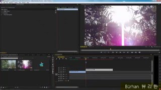 Premiere -  Lens Flare Transition Tutorial