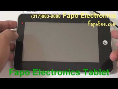 WM 8650 Tablet New Firmware Full Review Part 1