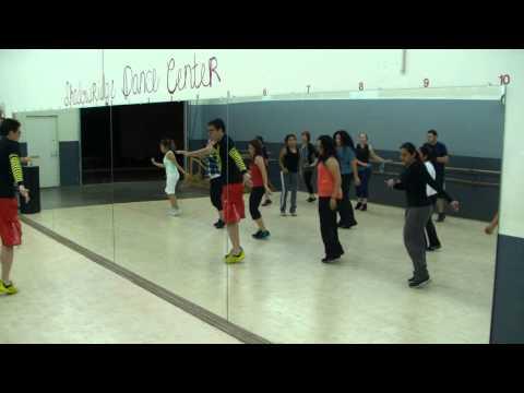 Hello - Martin Solveig & Dragonette - Dance Fitness Class W/ Bradley - Crazy Sock TV