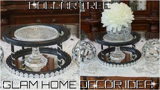 DIY DOLLAR TREE MIRROR CANDLE \ DISPLAY STAND DIY EASY INEXPENSIVE HOME DECOR IDEA 2018 PETALISBLESS