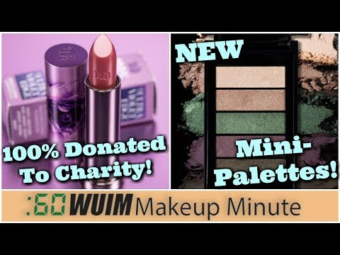 Urban Decay's Outspoken Vice Lipstick is COMING! + New Mini Palettes from L'Oreal! | Makeup Minute