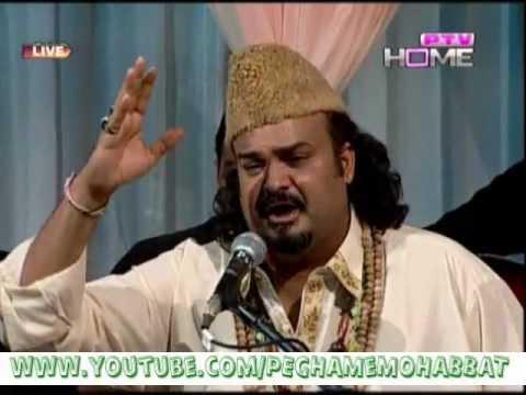 Milta Hai Kia Namaz Main Sajde Main Ja Ke Daikh-Qawali By Amjad Sabri