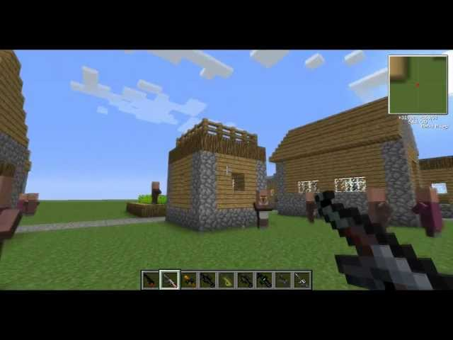 [Mod preview] Zbraně  - The Gun Mod - 1.3.2