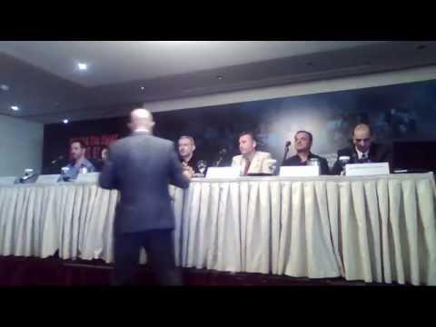 Συνέντευξη τύπου κοινότητας Ελλήνων ατμιστών   τίποτα για εμάς χωρίς εμάς