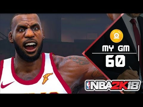 [MyGM]: LEBRON ZU DEN ROCKETS? - NBA 2K18 [060] - Lets Play | Maxx | Deutsch