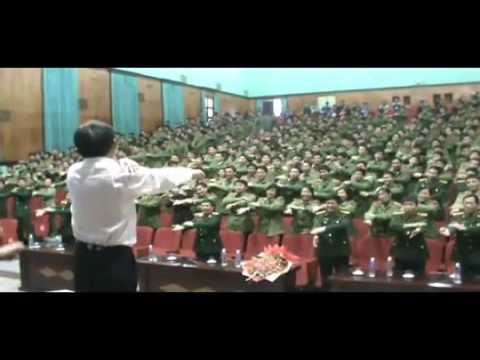 Laughter Yoga with police Academy Vietnam