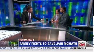video Chris Dolan and Omari Sealey, Uncle of Jahi McMath, speak with Piers Morgan on CNN.