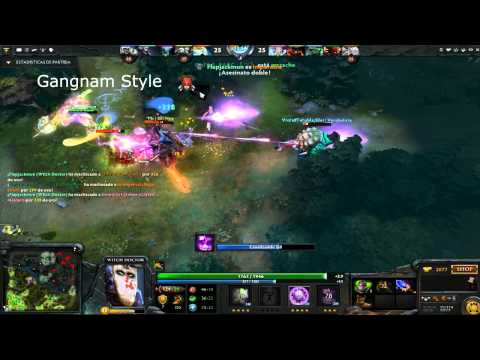 DotA 2:Witch Doctor Rampage 1vs5
