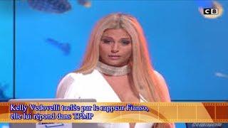 Kelly Vedovelli taclée par le rappeur Fianso,  elle lui répond dans TPMP