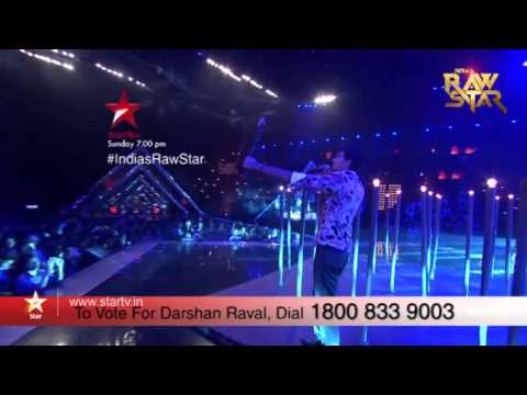 India's Raw Star Episode 12: Vote for Darshan