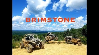 CRAZY views and miles of Brimstone trails!