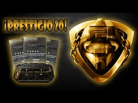 ¡PRESTIGIO MAESTRO 5 (20) + EM1 POLAR VORTEX! - ADVANCED WARFARE