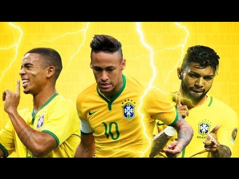 Brazil 2016 ● Magic Trio ● Gabriel Jesus ● Neymar ● Gabigol