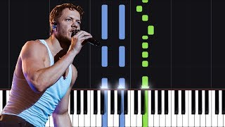 """Download Lagu Imagine Dragons - """"Natural"""" Piano Tutorial - Chords - How To Play - Cover Gratis STAFABAND"""