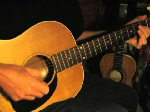 Blues For The Westend - Lonnie Johnson instrumental on a 10-string guitar