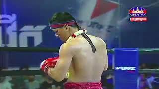 Puth Chayrithy vs Kao Eh (Thai) Seatv Khmer boxing 11/11/2018