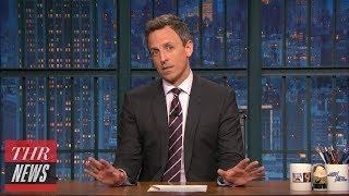 Late-Night Hosts Address Eminem's Freestyle Against Donald Trump | THR News