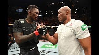 UFC 234: Entrevista no octógono com Anderson Silva e Israel Adesanya
