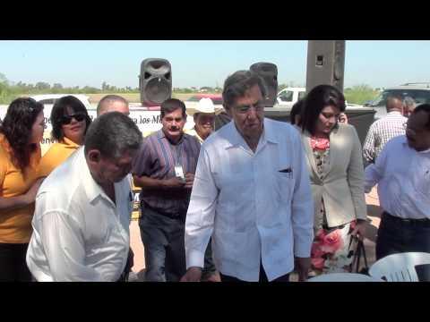 Cuauhtémoc Cárdenas visita Navojoa