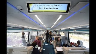 360 Video: Brightline train from WPB to Ft. Lauderdale
