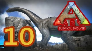 ARK: Survival Evolved #10. История одного бронто.