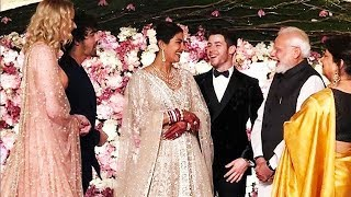 PM Narendra Modi Arrives At Priyanka Chopra & Nick Jonas GRAND MARRIAGE Reception In Delhi
