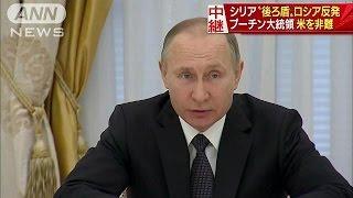「攻撃は侵略行為」プーチン大統領、米を激しく非難(17/04/07)