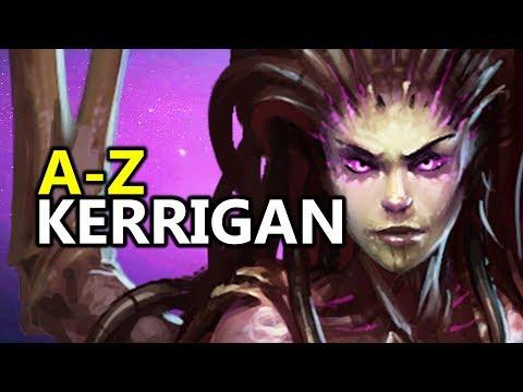 ♥ A - Z Kerrigan - Heroes of the Storm (HotS Gameplay)