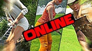 Гагатун, Юзя и Хитман играют в ГОЛЬФ - GTA ONLINE