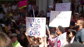 Thousands rally for gun control after Florida school shooting