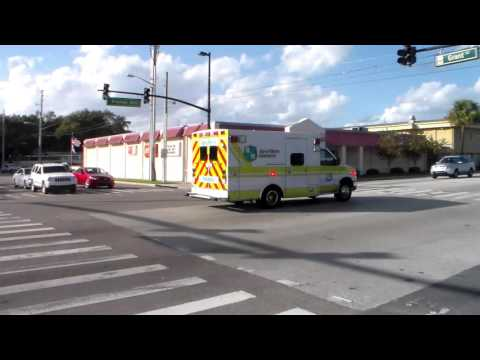 Rural Metro Ambulance 164 Emergency Transporting
