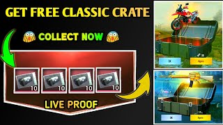 Pubg Mobile Free || Classic Coupon Crate || Back Again New Tricks 100% Working 😱