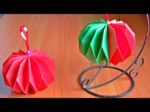 Новогодние игрушки своими руками легко и просто
