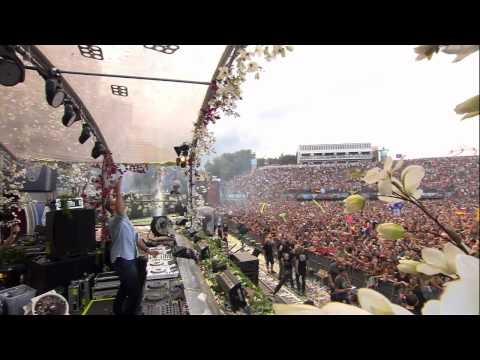 Afrojack at Tomorrowland 2012