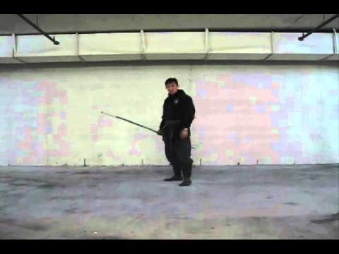 Choson Ninja (Bo-Staff tutorial series #15) video #152