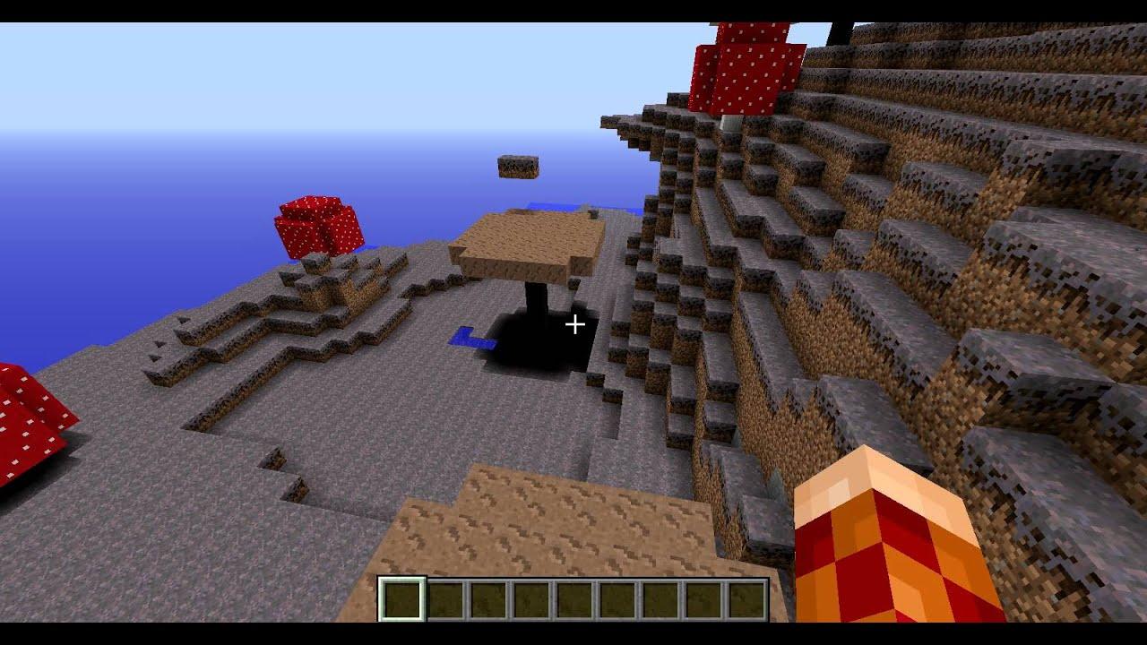 Как найти грибной биом в minecraft