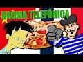 UN JAPONÉS Y UN FRANCÉS PIDIENDO PIZZA | BROMA TELEFÓNICA
