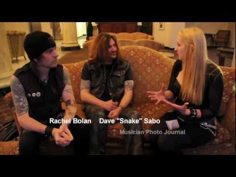 SKID ROW (Part 1) - MPJ Interview (Dave&Rachel)