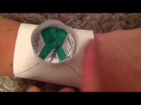Ben 10 Working! Paper omnitrix